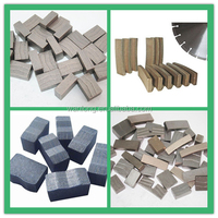 Stone cutting tools Diamond Granite Marble Cutting segment Concrete Diamond Cutting Segment for Basalt Slab Cutting