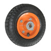 150mm Small Pneumatic wheel with Metal Rim