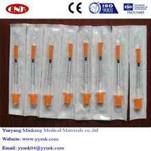 High quality disposable sterile pen type insulin needle