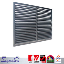 Adjustable vertical glass louver windows adjustable wallmount floor guide adjustable window frames