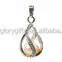 NEW WISH PEARL PENDANT CAGES
