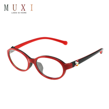 Hot selling low cost latest model spectacle frame wholesale blue color tr90 kid optical glasses frame
