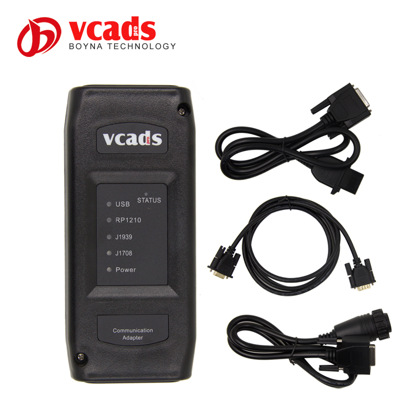 Fast Shipping For Volvo VCADS Truck Diagnostic Tool