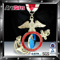 New fashion metal custom army meaningful medal awards medallions