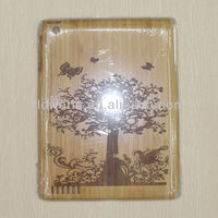 FL1548 GuangZhou 2013 NEW real natural wood case,Bamboo charcoal case for ipad