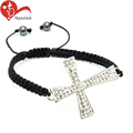 Factory wholesale catholic black crosses for bead bracelet
