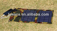 10W Plug N Play Solar Outoor Charger, Foldable Solar Power Pack