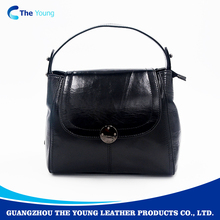 Tote bag fashion leather genuine handbag