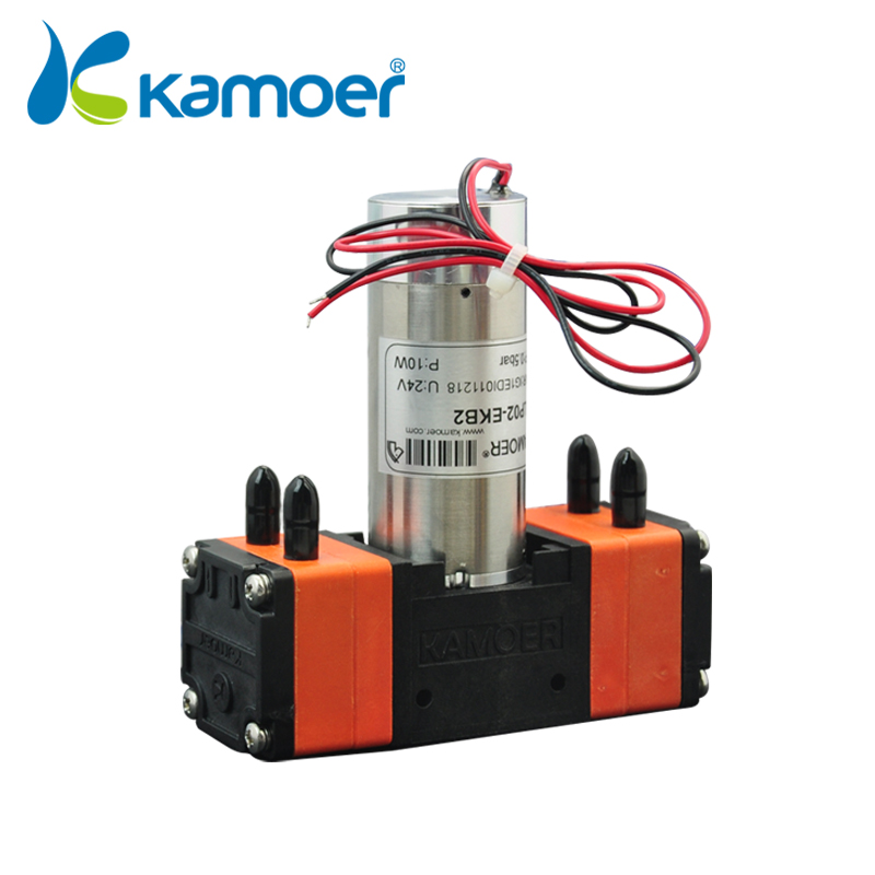 ISO Supplier Kamoer duplex diaphragm pump with DC motor