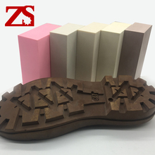 ZS-TOOL Good quality and cheap epoxy resin tooling board used for pink color shoe sole
