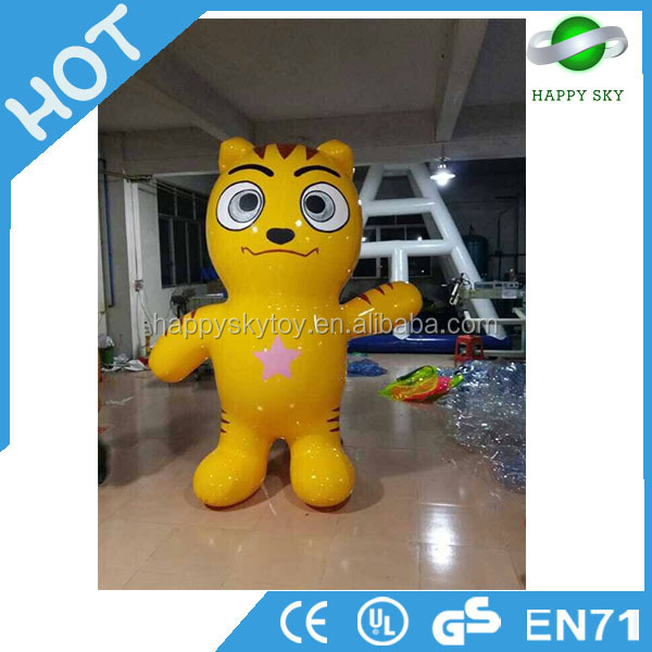 Hot Sale ! Inflatable cartoon Garfield characters, inflatable Garfield for sale, moving giant cat for advertising