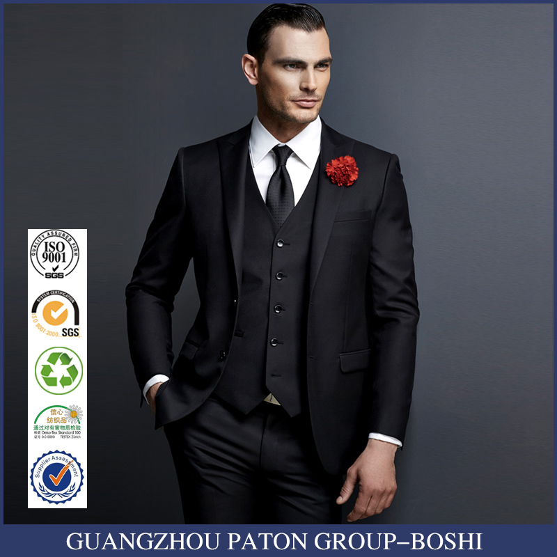 Informal Fashion Classic Black New Designs Mens Blazer