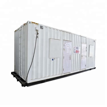 ISO9001 Steel Frame and container house  for mud logging in oil exploration