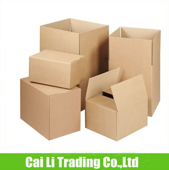 brown kraft paper stronger standard export carton box