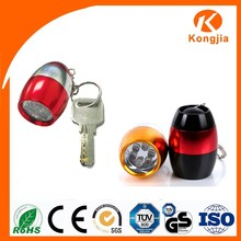 High Quality Keychain Torchlight Kids Gift Promotional Flat Led Flashlight