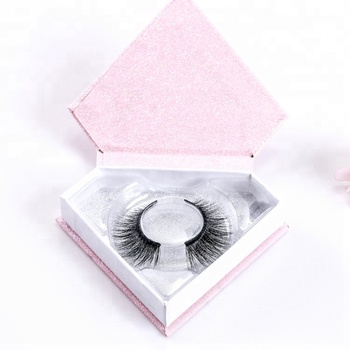 Eyelashes package box custom  private label  mink eyelashes 3d natural eyelashes siberian mink lashes