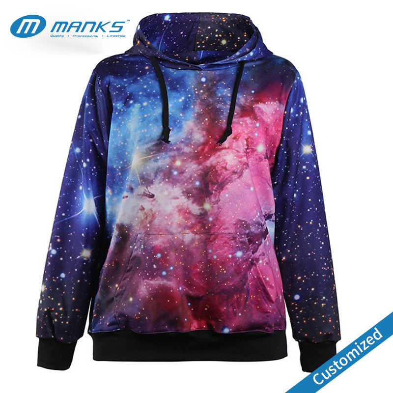Custom New Design 100% Polyester Sublimation Print Hoodie Factory Price
