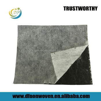 Sandwich activated carbon filter fabric