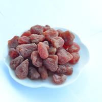 New Crop EU Standard Preserved Dried Strawberry Dehydrated Low Sugar