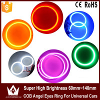 Lightpoint hot sale 60mm/80mm/100mm/120mm/140mm hightness LED COB Rings White Blue Green Yellow Red COB led ring