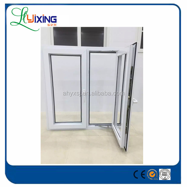 Plastic,Top quality PVC UPVC Frame Material and Horizontal Opening Pattern window manufacturer