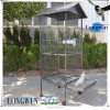 steel round foldable bird cage wire mesh