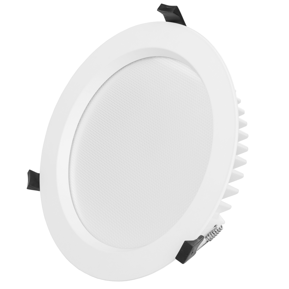 Mini Mains Round Cutout 150 Flush Led Downlights For Bathroom