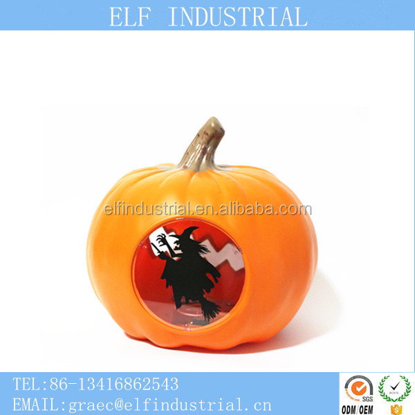 China supplier china import items decor for home cool LED flashing halloween pumpkin designs