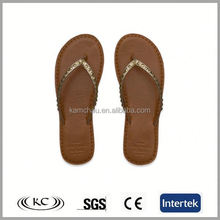 cheap price bulk wholesale popular beach soft straw mat flip flops