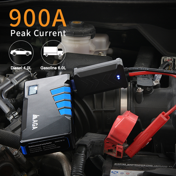 Best Mini Portable Car Jump Starter for v8 engine, 20000mAh car jump starter for vehicles Iphone Ipad digital