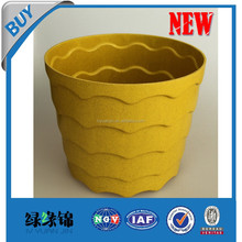 Alibaba China Wholesale Home & Garden Supplies Flower Pots & Planters Set / plant fiber material round planters