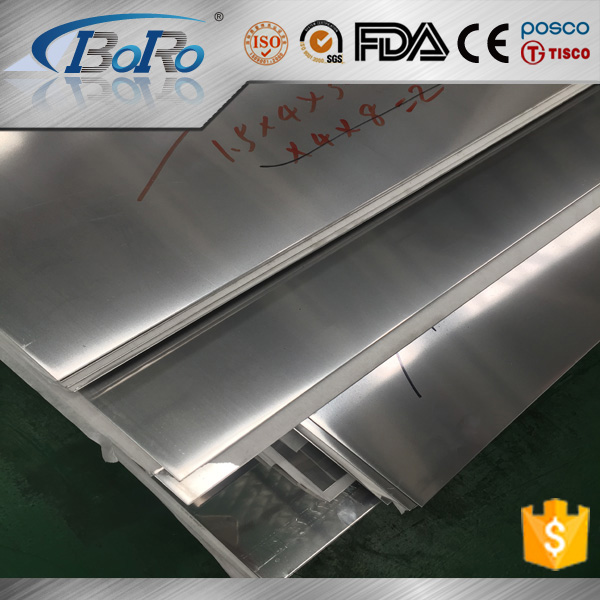 AISI 304 super mirror finish stainless steel sheet for decoration