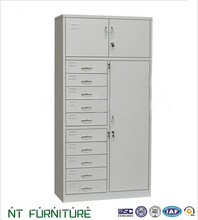 Top quality steel office furniture sale tall cabinet with drawers