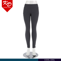 OEM Trade assurance manufacturer korean sex grey color cotton lady pants