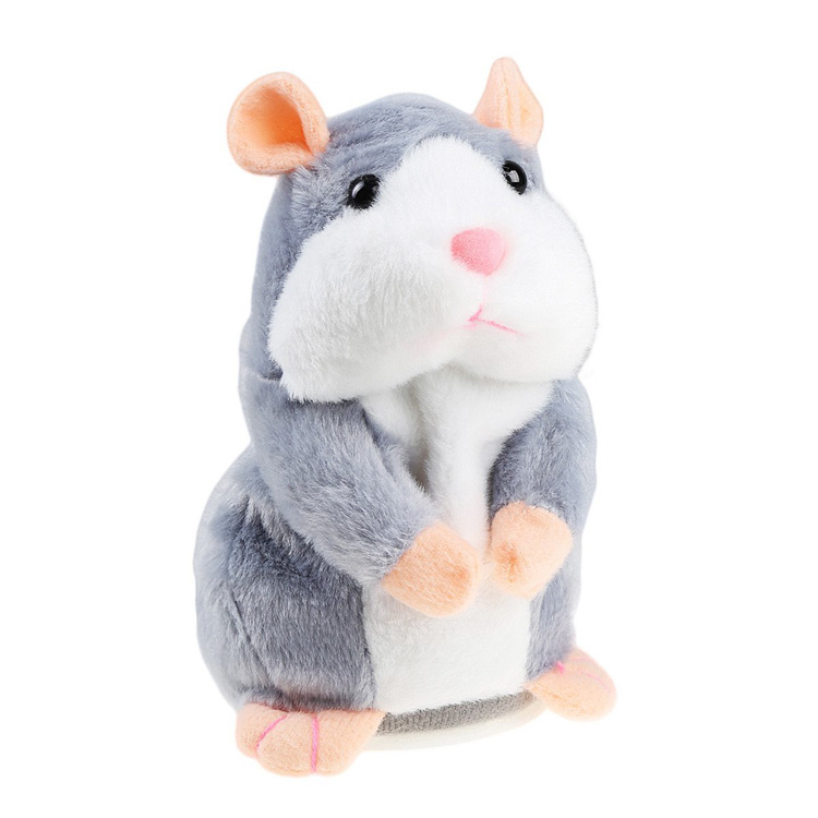 New clear voice repeat talking x hamster animals toy for children