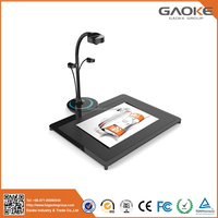 3D high speed 360 degree rotation portable book document scanner
