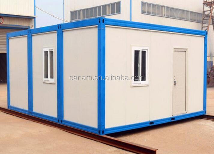 prefab container house flat pack regugee emergency shelter