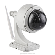 1080P Security CCTV Outdoor PTZ Wireless Speed Dome WIFI IP Camera 2.8-12mm Focus lens 4X Auto Zoom Micro SD Card