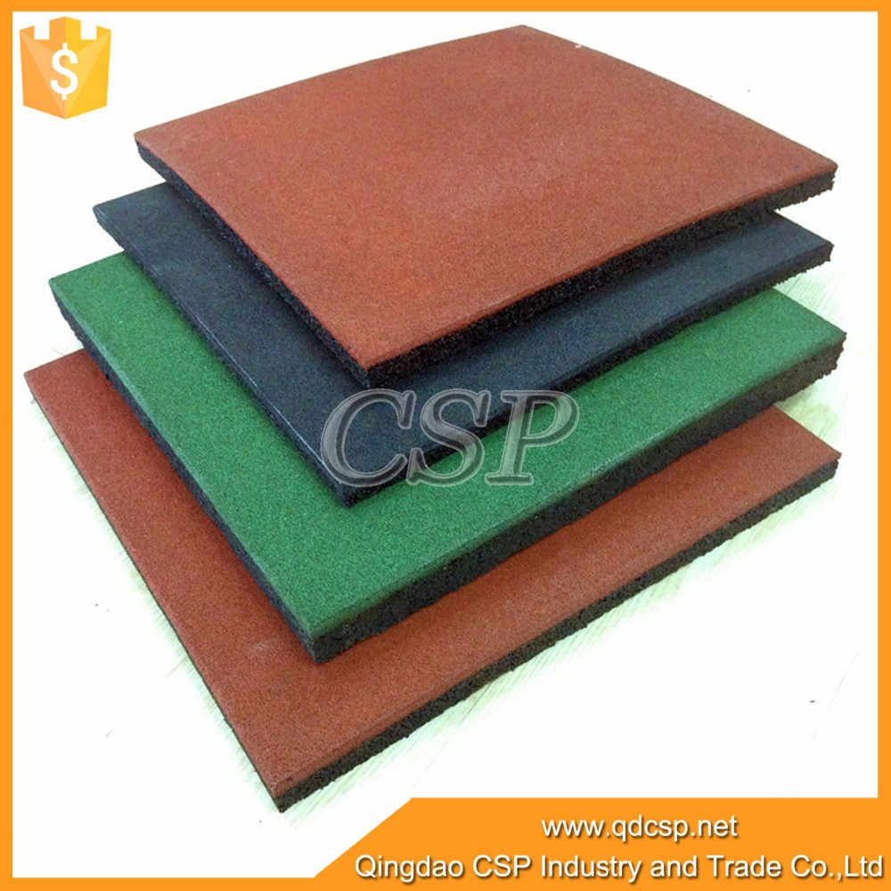 safety rubber tiles for play grounds/indoor playground rubber floor
