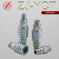Push and Pull Type Hydraulic Quick Disconnect Hose Coupling,Quick disconnect hose coupling