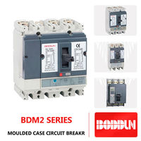 2014 popular use electrical mccb circuit breaker BDM2 4P 160A compact NS compact NSX