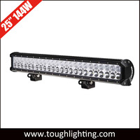 Auto parts roof mounted 144w 24 inch led driving light bar