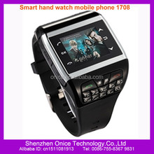 unlocked 2.0 MP camera wrist watch mobile phone support Webcam and msn Q6 cell phone with 1GB free gift