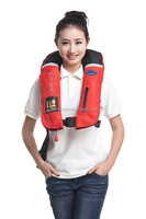 Boating or fishing inflatable life jacket/life vest for adults