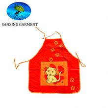 cartoon colorful children pvc apron