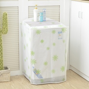 Waterproof cover dustproof PEVA washing machine cover with various designs