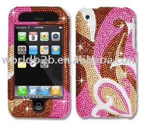 Diamond Crystal Case for apple iphone 3GS