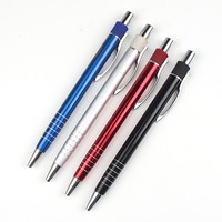 Personalized logo printed ball pen with metal pen logo wholesale gift ball pen