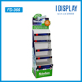 corrugated cardboard floor display stand for outdoor solar LED light