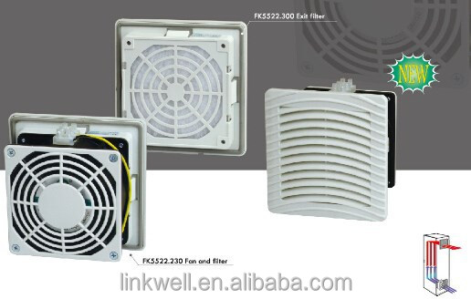 Electrical Cabinet Emc Filter Fan/EMC shielding fan